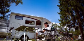 Guide to charging the camper battery.
