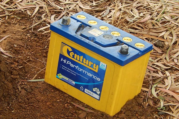 There are few places where you can dispose of car batteries.