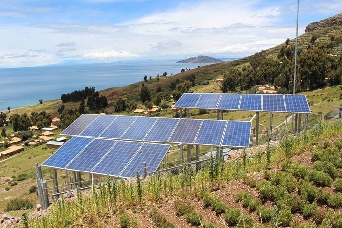 Is using car batteires for our solar panels one of the choice to run a power?