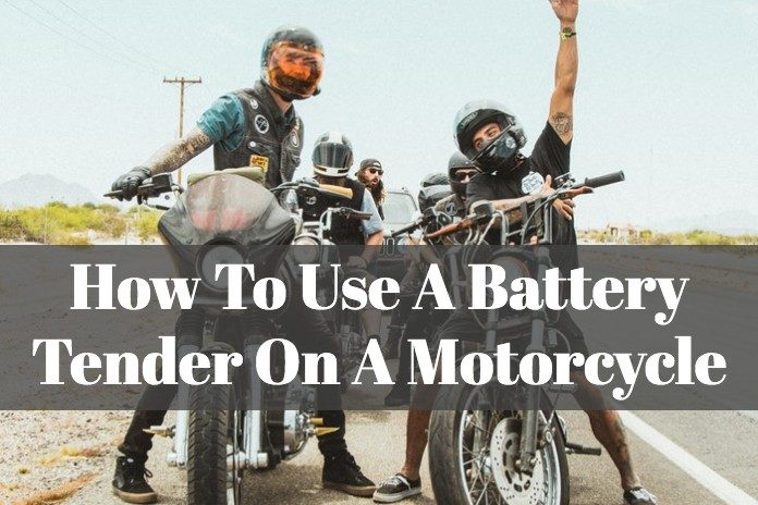 Learn the right way to charge your motorcycle battery with a battery tender.