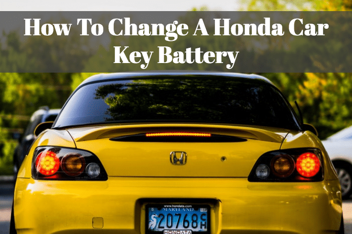 Learn how you can change your Honda car key battery through my blog.